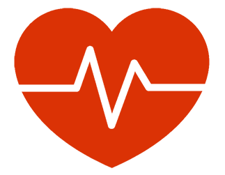 Heart icon symbolizing biological Health