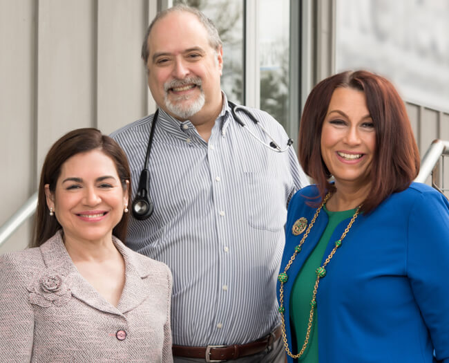 Maria Ramzi Dino Ramzi and Dianna Kretzschmar the Delta Direct Care leadership team